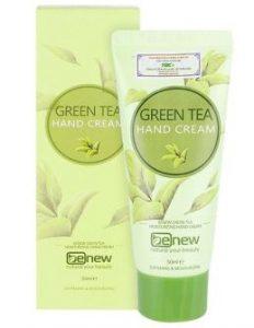 Kem dưỡng tay trị khô nẻ dưỡng da mềm mịn chiết xuất trà xanh Benew Hand Cream Hàn quốc