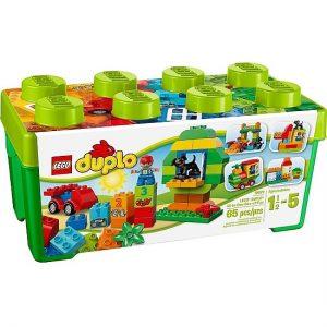 Lego Duplo thùng gạch xanh
