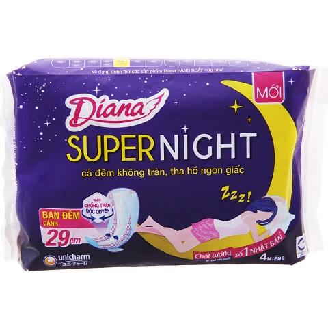 Băng vệ sinh dùng ban đêm.