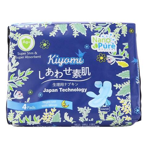 Băng Vệ Sinh Ban Đêm Nhật Bản Kiyomi