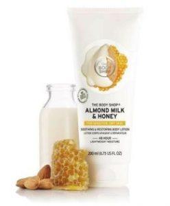Bơ dưỡng thể The Body Shop Almond Milk & Honey Body Butter