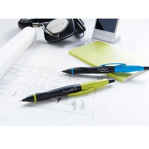 Hộp 1 cây bút chì bấm STABILO SMARTgraph 0.5 + ruột chì PC3205R12-2B