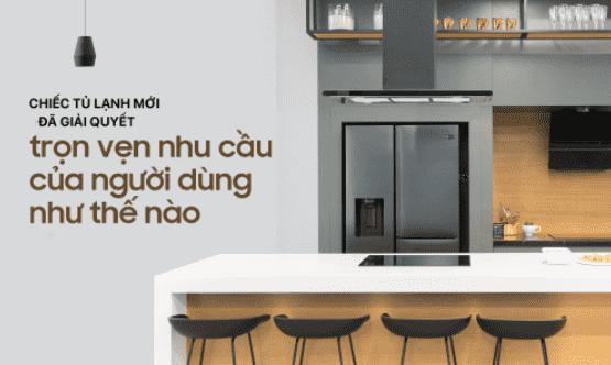 Chất liệu và thiết kế của tủ lạnh