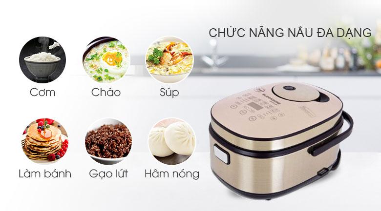 Công nghệ nấu của nồi cơm điện mini