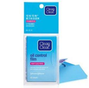 Giấy thấm dầu Clean & Clear Oil (60 Miếng/gói)