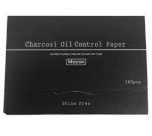 Giấy thấm dầu than hoạt tính Mayan Oil Control Paper (100 tờ)