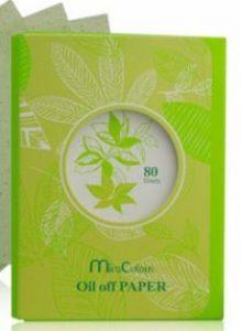 Giấy thấm dầu tinh chất trà xanh Miraculous Oil Off Paper Hàn Quốc D294