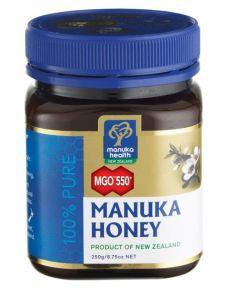 Manuka Health Mật ong Manuka – Chỉ số kháng khuẩn MGO 550+