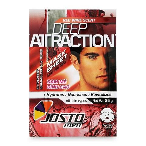 Josto Mặt Nạ Giấy cho Nam Deep Attraction