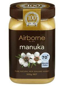 Mật Ong New Zealand – Airborne Manuka 70+ 500G