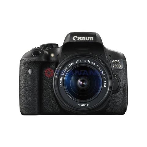 Máy Ảnh Canon 750D + Lens 18-55 IS STM