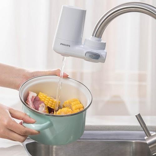 máy lọc nước tại vòi 11
