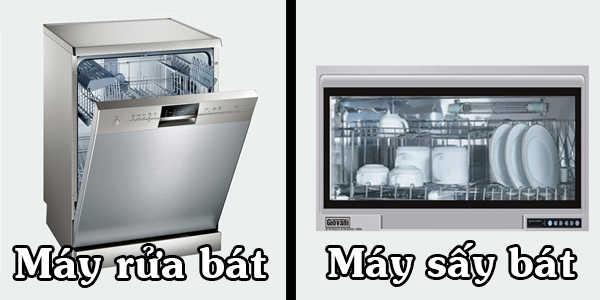 Máy rửa bát và máy sấy bát