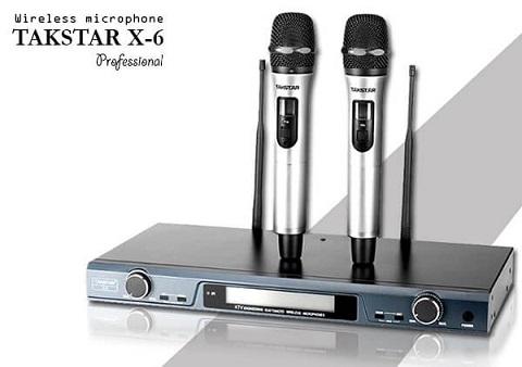 Micro không dây cao cấp Takstar X6 UHF