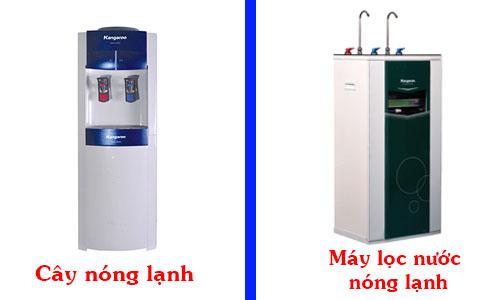 Nên mua cây nóng lạnh hay máy lọc nước nóng lạnh