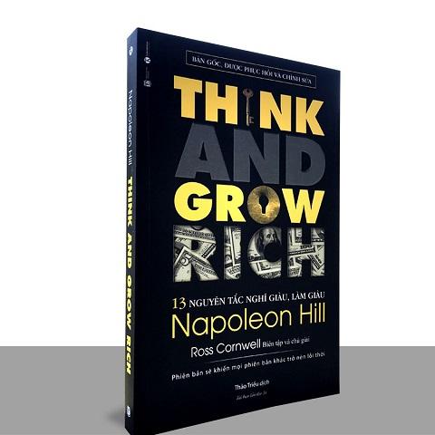 Sách 13 nguyên tắc nghĩ giàu làm giàu