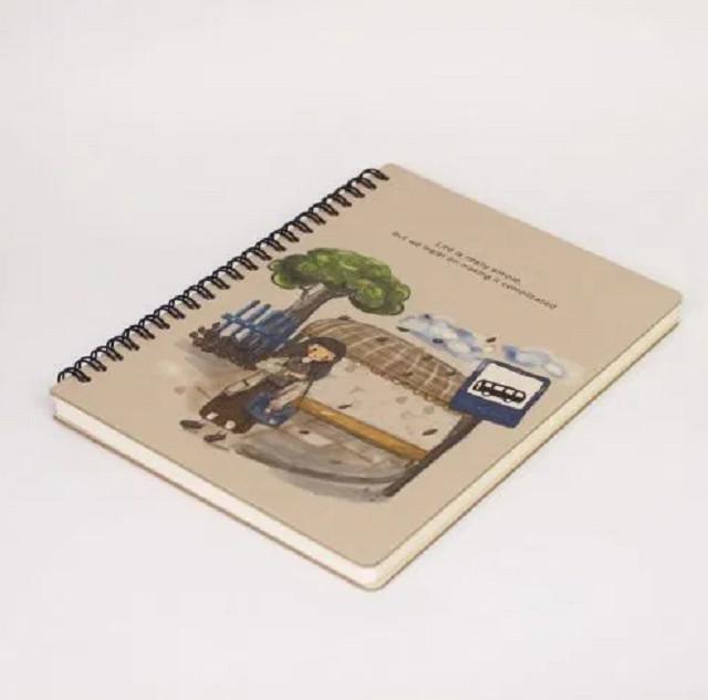 Sổ Tay Kế Hoạch Planner bìa cứng 3mm ruột in màu