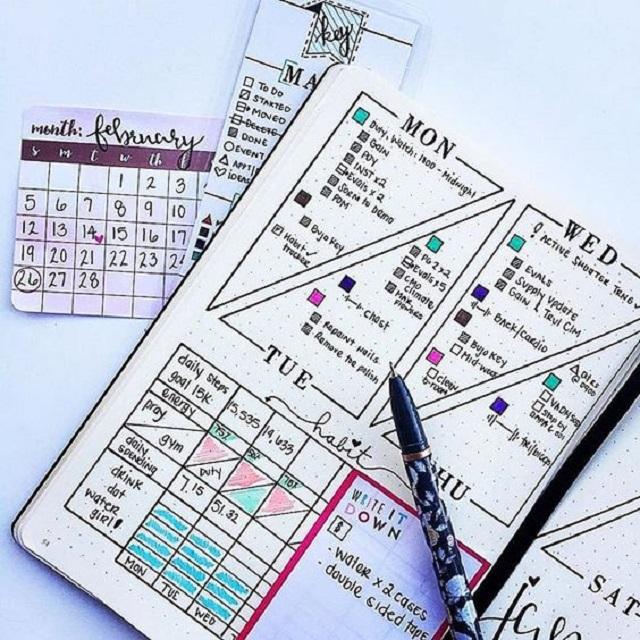 Sổ tay planner có những thành phần gì