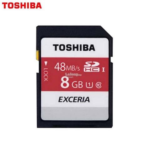 Thẻ nhớ SD Toshiba 8GB 40Mb/s cho máy ảnh