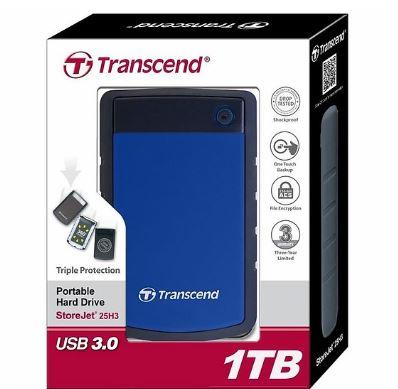 Ổ cứng di động Transcend StoreJet M3B 1TB