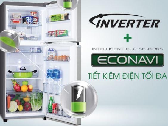 Tủ lạnh mini tiết kiệm điện năng