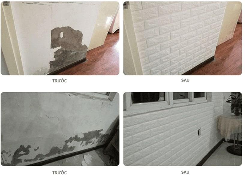 xốp dán tường 3d