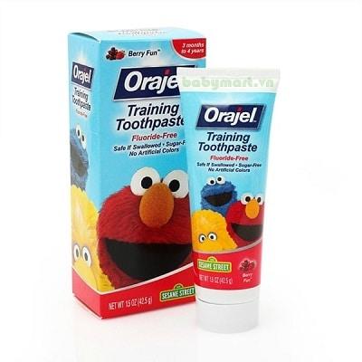 Kem đánh răng cho bé orajel