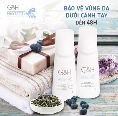 Lăn khử mùi không để lại mùi Amway G&H Protect+