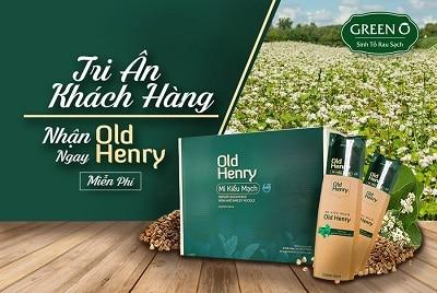 Mì kiều mạch Old Henry
