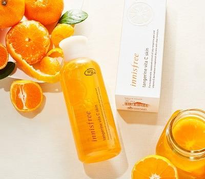 Nước hoa hồng Innisfree Tangerine Vita C Skin