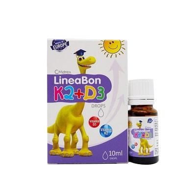 sản phẩm Lineabon Vitamin D3 + K2 Tăng Chiều Cao cho bé 1