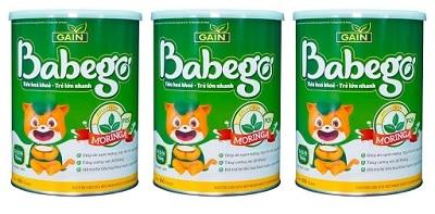 Sữa thảo dược chùm ngây Babego 1