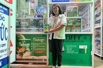Sữa thảo dược chùm ngây Babego 2