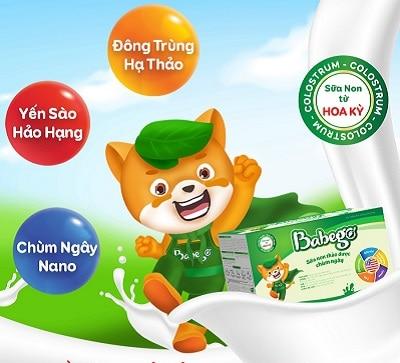 Sữa thảo dược chùm ngây Babego 6