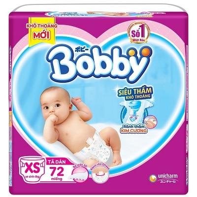 Tã dán sơ sinh Bobby