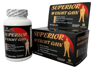 Thuốc tăng cân của Mỹ Super Weight Gain
