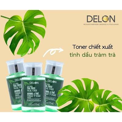 toner Delon Tea Tree