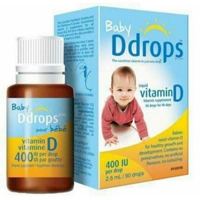 vitamin d3 cho trẻ sơ sinh 7