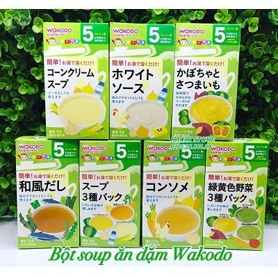 bột ăn dặm wakodo 3