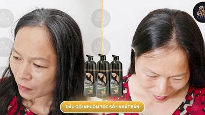 dầu gội phủ bạc sin hair 32