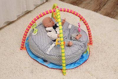 gối chống trào ngược cho bé babylux lounger