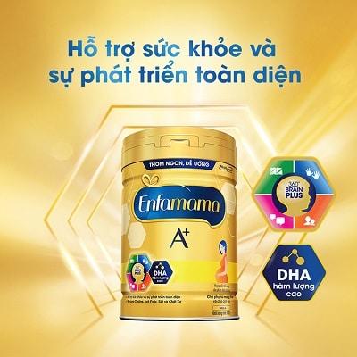 Sữa dành cho bà bầu Enfamama A+