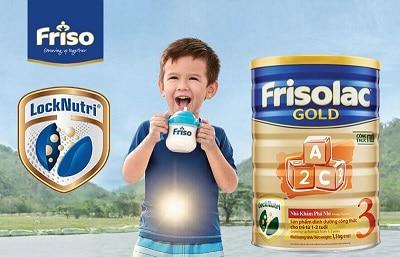 Sữa Frisolac Gold Pro số 3 dành cho trẻ từ 1 - 3 tuổi