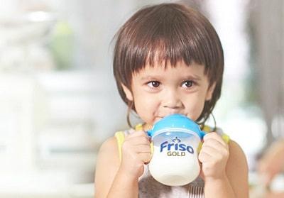 Sữa của Friso giúp bé tăng cân khỏe mạnh