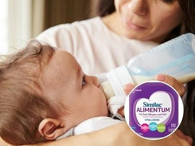 Dòng sữa Similac Alimentum cho trẻ từ 0 - 12 tháng tuổi bị dị ứng đạm sữa bò
