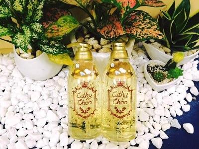 Sữa tắm trắng da Cathy Choo 24K Active Gold