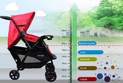xe đẩy cho bé sơ sinh