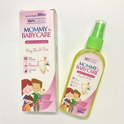 Xịt chống muỗi cho bé Mommy&Babycare