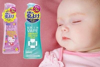 xịt chống muỗi cho bé