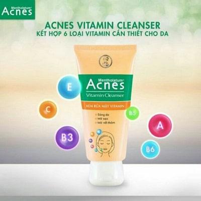 Sữa rửa mặt Acnes 1